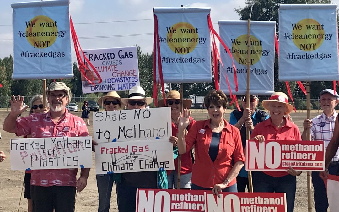 Sixteen Environmental, Public-Health Organizations Oppose Greenwashing of Fracked Gas-to-Methanol Refinery