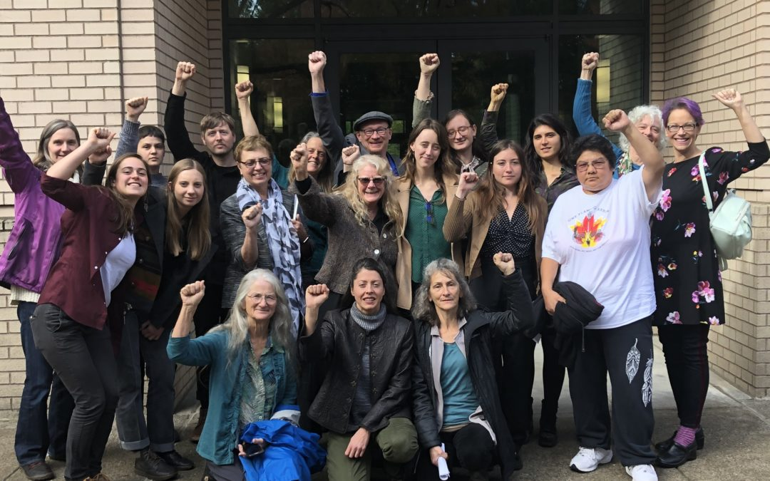 Community Members Ensure Southern Oregonians are Heard by Governor Kate Brown at Oregon State Lands Board