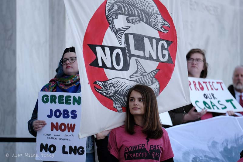 PRESS RELEASE: Despite Oregon Permit Denials and Current Public Health Crisis, Federal Agency Approves Jordan Cove LNG