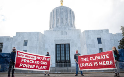 Press Release: Youth Activists Deliver Letter to Governor Brown, Oregon Department of Energy from 14 Organizations, Demanding Action Against Major Fracked Gas Project